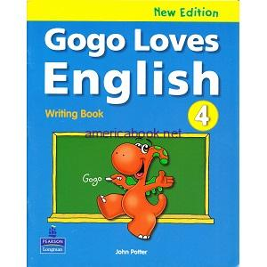 Gogo Loves English 4 Writing Book New Edition