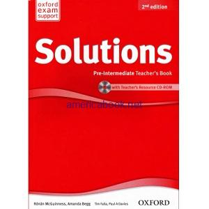 Solutions Pre-Intermediate Teacher's Book 2nd