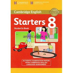 Cambridge YLE Tests Starters 8 Student Book