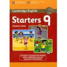Cambridge YLE Tests Starters 9 Student Book