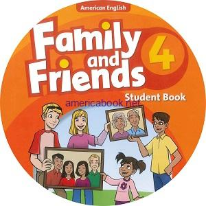 Family and Friends 4 American Edition Student CD Time to talk