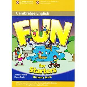 Fun for Starters Student's Book 2nd Edition