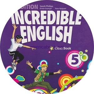 Incredible English 5 2ndEd Audio Class CD4 CYL Movers practice – Tests