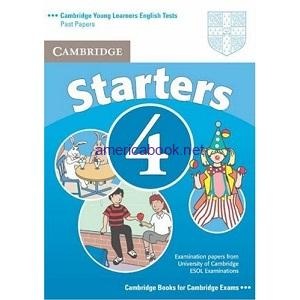 Cambridge YLE Tests Starters 4 Student Book