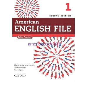 American English File 1 Student Book 2nd Edition