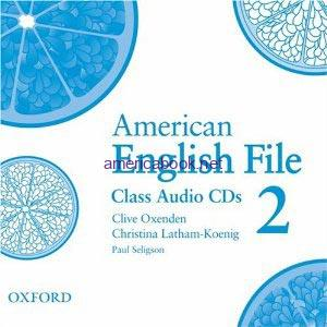 American English File 2 Class Audio CD1
