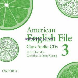 American English File 3 Class Audio CD1