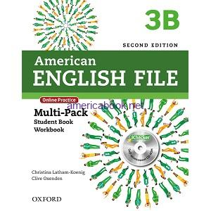 American English File 3B Student Book Workbook 2nd Edition