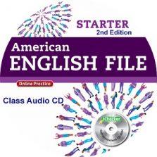 American English File Starter 2nd Edition Class Audio CD4