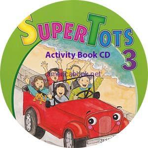 SuperTots 3 Activity Book Audio CD