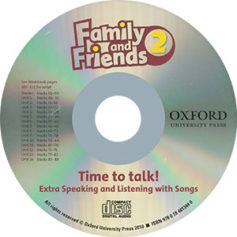 Family and Friends 2 American Edition Student CD Time to talk