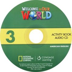 Welcome to Our World 3 Activity Book Audio CD