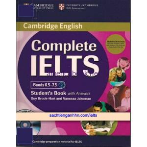 Complete IELTS Bands 6.5 to 7.5 Student's Book