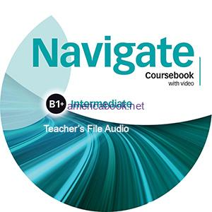 Navigate Intermediate B1 plus Coursebook Teacher's Files Audio CD