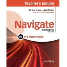 Navigate Pre-intermediate B1 Coursebook Teacher's Edition