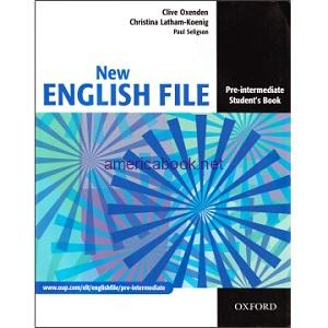 New English File Pre-Intermediate Student Book pdf