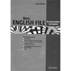 New English File Pre-Intermediate Test Booklet