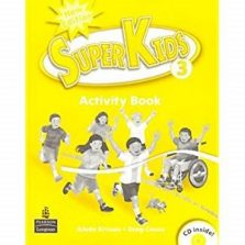 SuperKids 3 Activity Book New Edition with audio CD