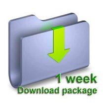 1 Week Download package
