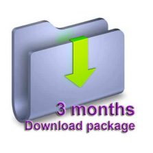 3 Months Download package