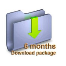 6 Months Download package